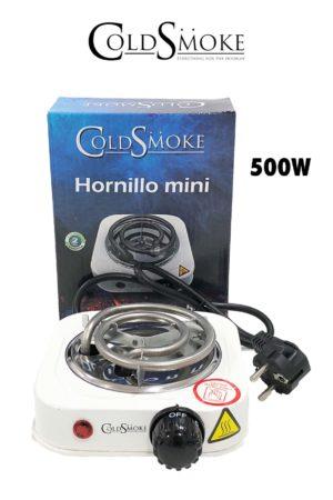 Foto de producto de la marca Cold Smoke, es el modelo de HORNILLO PLATO MINI 500w.