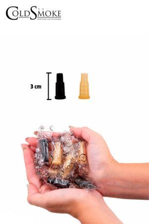 Foto de producto de la marca Cold Smoke, es el modelo de Boquillas Desechables Nº 1 - Paq.100 Und.
