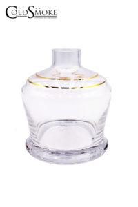 Foto de producto de la marca Cold Smoke, es el modelo de Base Cristal 0405YT Golden Lines 14cm.