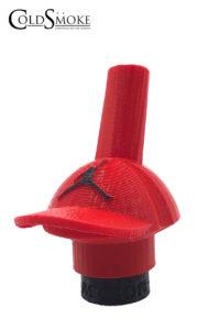 Foto de producto de la marca Cold Smoke, es el modelo de Boquilla 3DA Gorra Roja