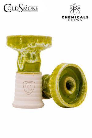 Foto de producto de la marca Cold Smoke, es el modelo de Cazoleta CS Cheminal Neon