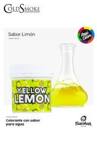 Foto de producto de la marca Cold Smoke, es el modelo de PAPI COLOR Yellow Lemon