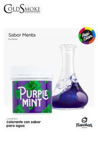 Foto de producto de la marca Cold Smoke, es el modelo de PAPI COLOR Purple Mint