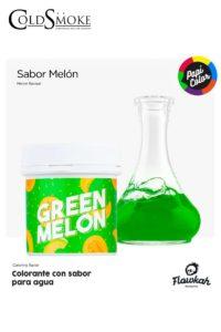 Foto de producto de la marca Cold Smoke, es el modelo de PAPI COLOR Green Melon