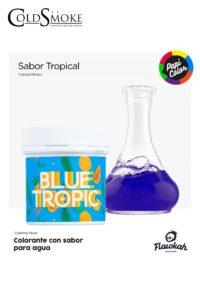 Foto de producto de la marca Cold Smoke, es el modelo de PAPI COLOR Blue Tropic