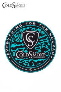 Tapete Silicona CS Aqua Blue de la marca de cachimbas y shishas Cold Smoke