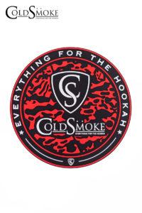 Tapete Silicona CS Red de la marca de cachimbas y shishas Cold Smoke